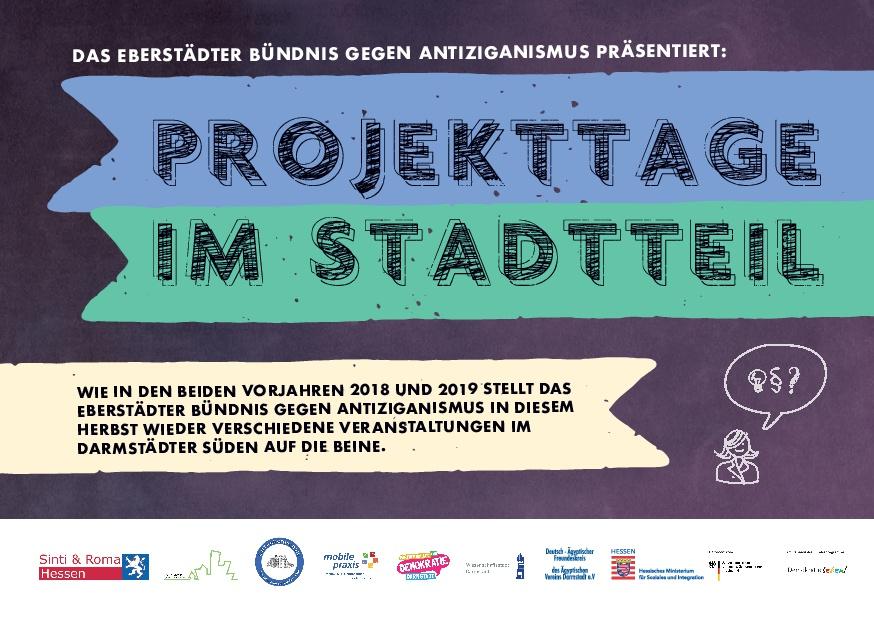 Flyer zu Projekttage im Stadtteil